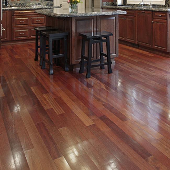 Brazilian cherry hardwood floors scratch gurus floor for Brazilian hardwood flooring